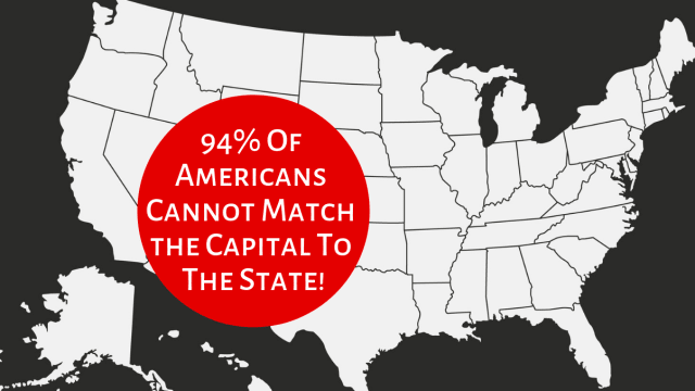 How much do you really know the state capitals?