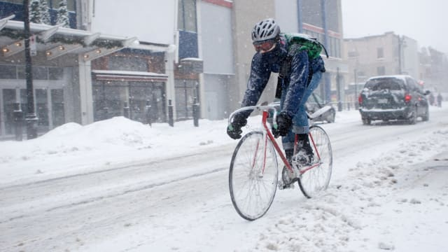 Winter cycling isn't for everybody. If you're itching to hit the road regardless of winter weather there are a few things to know to make sure you stay warm.