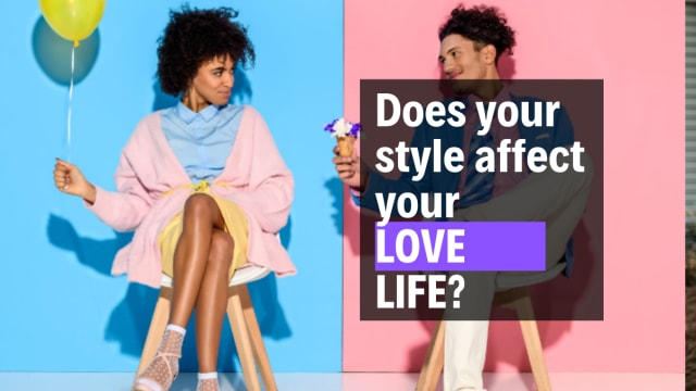 Are you secretly in love with what you are wearing? or dating your own clothes?