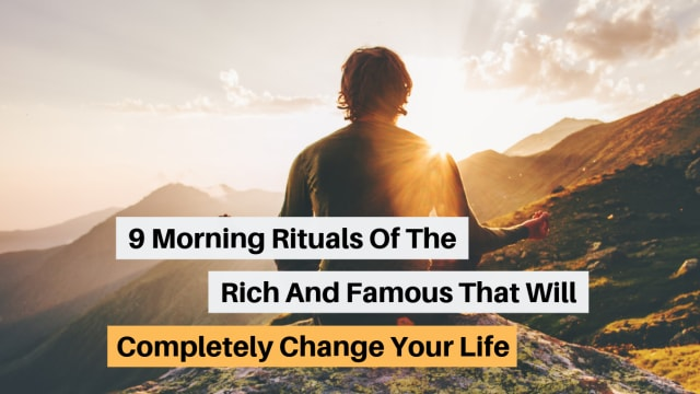 What does Oprah do every morning to get her started? Try out some of these morning rituals to boost your productivity levels to new heights.