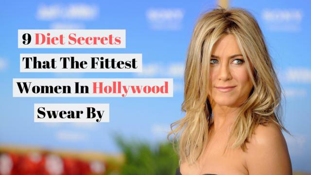 Ever wonder how Jennifer Aniston stays slim literally 24/7?