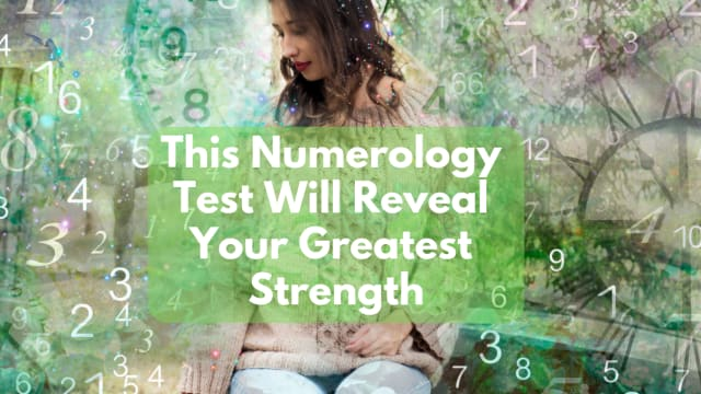 What do the chosen numbers reveal about you?