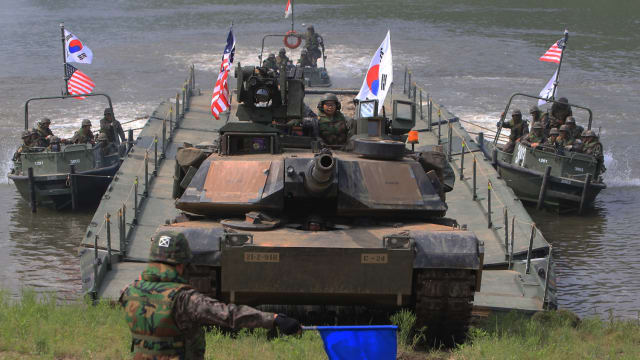 "The second summit with North Korea didn't yield much progress and the US has called off war games with South Korea. Is this a smart move or will North Korea see it as a ""win"" and offer up nothing in return?"