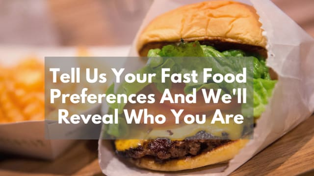 Which fast food burger is your absolute favorite?
