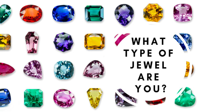 Are you hard as a diamond or as mysterious as a sapphire? This quiz will tell you which jewel best fits your personality.
