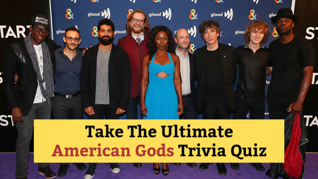 In honor of the premiere of the season 2 of American Gods, we've compiled the ultimate American Gods trivia quiz. Only the smartest will prevail!