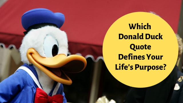 Phooey! Find out which iconic Donald Duck quote defines you! Take this fun Disney quiz!