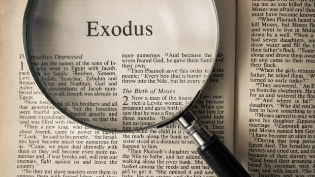 The story that turned slaves into a nation, Exodus is a tale nearly as old as civilization itself - but did it actually happen?