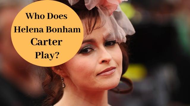 Who does Helena Bonham Carter play in Harry Potter?