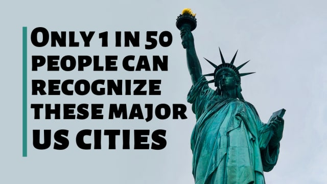 Only 1 In 50 People Can Recognize These Major US Cities!