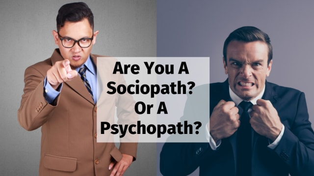 Psychopaths tend to be charming and unassuming, while sociopaths are violent outcasts. Which one are you?