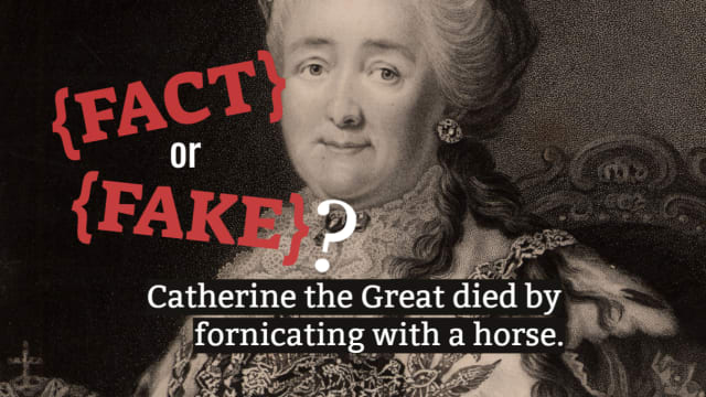 Fact-checking seems to be a thing of the past - but not for you. See if you can sort some of society's most common historical myths from the fact.