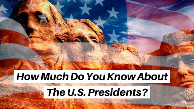 There have been some colorful characters over the history of presidency in the U.S. How much do you know about these presidents?