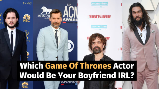 Ever wonder which Game of Thrones hunk is perfect for you? Take this quiz to find out!