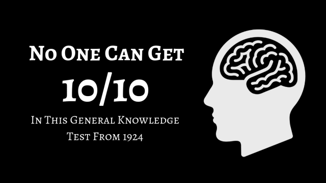 We gave this test to 120 high school students and the highest score was 6/10. Can you raise the bar?