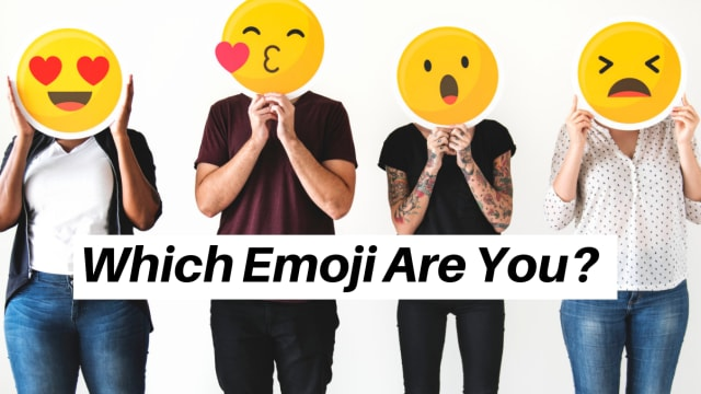 We use those fun little emoticons every day, time to find out which one matches your personality!