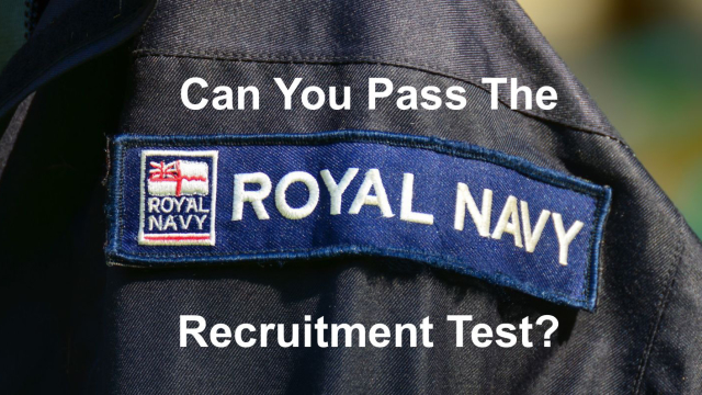 Only true sailors can get a 10/10 on this Royal Navy Recruitment test. Are you destined to serve the British empire on the seven seas? There's only one way to find out. Test your reasoning, mechanical and math skills in this quick quiz.