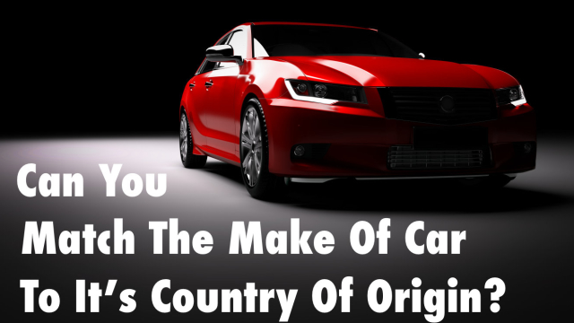 Zoom zoom! You've seen hundreds of cars on the road. There's Chevrolet, Ford, BMW and Jaguar, but do you know which country these cars were first made in? Take this car quiz and see if you're truly the car geek you say you are.