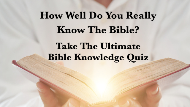 You might think you know both the new and old testament backwards and forwards...but you don't! What was Matthew's job? How many people did Jesus feed? Try your hand at the bible quiz and find out whether or not you're a bible whiz.