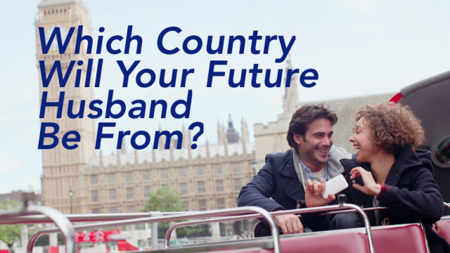 Is your current home country coming up short in the husband department? Fear no more because this quiz will tell you where your future husband is most likely to be hiding...