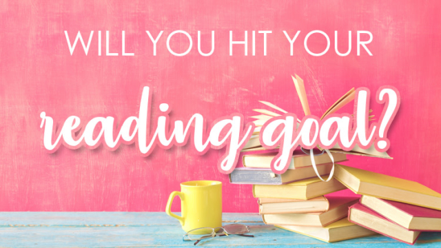 At the start of every year, dedicated book nerds from around the world set their reading goals for the next twelve months. We're here to tell you if you'll succeed.