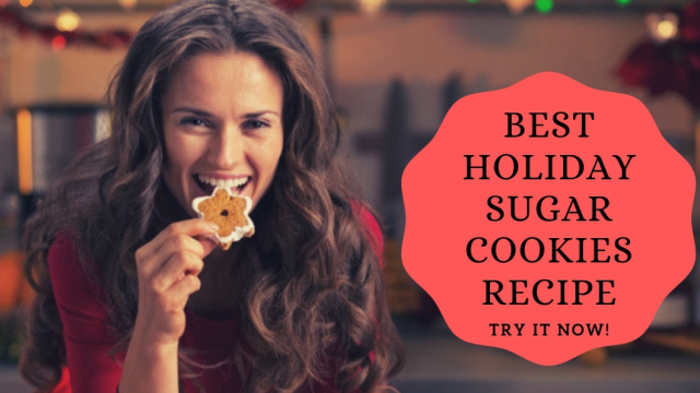 The holiday season is finally upon us and many people are searching for that perfect sugar cookie recipe... and we have it right here! Check out this super easy, delicious cookie recipe: