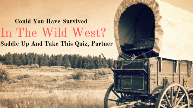 The Wild West was a lawless time of survival. Anything or anyone could up and end your life without much notice. It took a strong person to survive back then, take this quiz and see if you could have.