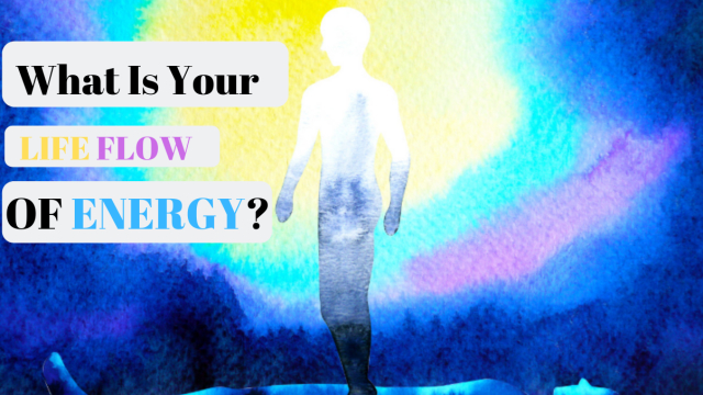 Are you a rushing waterfall or a still lake? What is your life flow of energy?