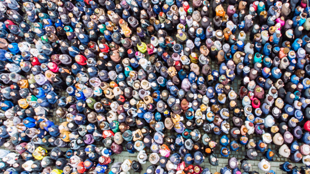 The world's population has drastically increased over the years and is expected to continue rising. So how big is the Earth's population expected to be in about 30 years time?