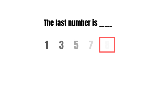 Only those with 20/20 can guess all of these numbers right!