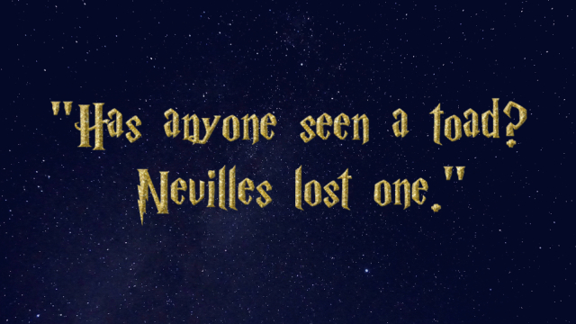 Only true Harry Potter fans can figure out these characters from their first line. Potterheads? It's time to show your stuff.