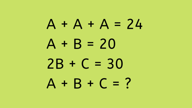 3 question. Go!