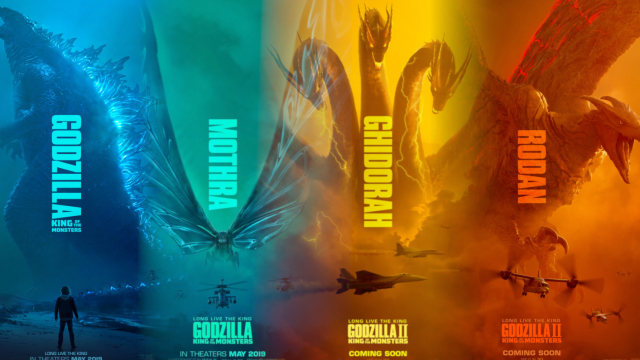 This is GODZILLA's world... we just live in it. But if you rose tomorrow as a terrible titan - which would you be? Rodan? Mothra? Godzilla himself? Or the all-consuming GHIDORAH?