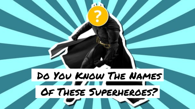 From Marvel to DC, there are hundreds of superheroes out there. But how many of them can you identify outside of Batman and Spider-man?  Let's find out!