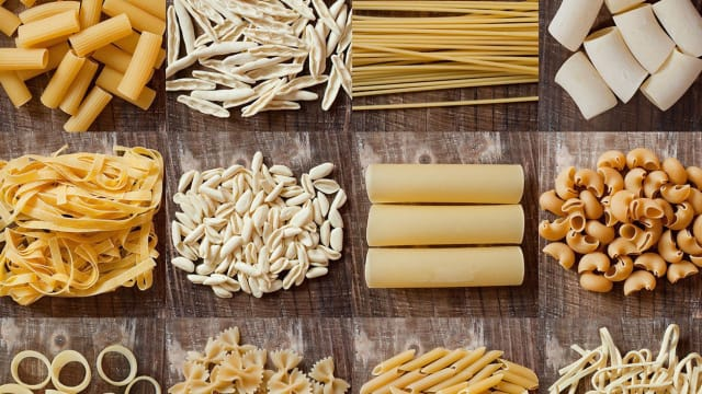 You've probably eaten these pasta shapes before, but do you know what they're called? Put your food knowledge to the test!