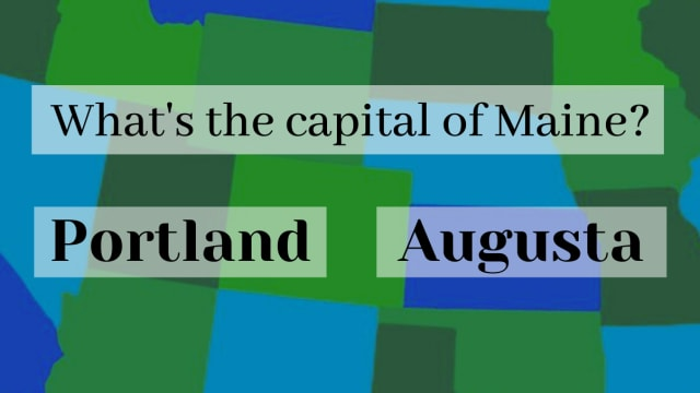 What's the capital of Virginia? and what about New Jersey and Louisiana? Test your knowledge !