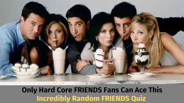 Think you know the friends clan? Think again! Test your knowledge with this incredibly obscure quiz!