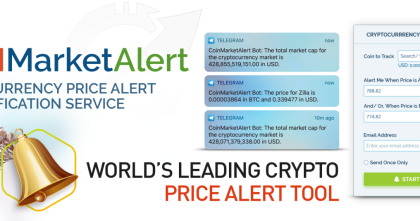 GETTING THE BEST CRYPTOCURRENCY PRICE ALERT SERVICES