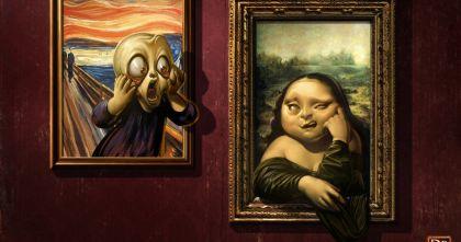 Тест: Тест на знание великих людей: кто автор этих картин?