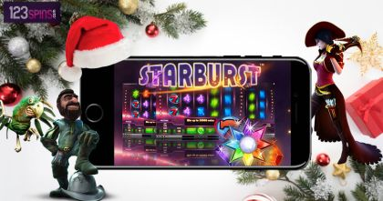 Starburst Free Spins Will Make This Holiday Season Special For You At 123 Spins