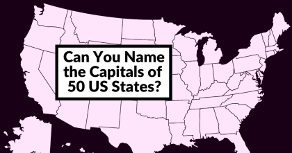 Nobody Can Score 50/50 In This US States Capitals Quiz. Can You?