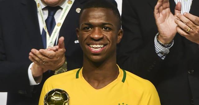 Onde os 45 milh�es de euros colocam Vinicius Jr. no mundo das transfer�ncias?