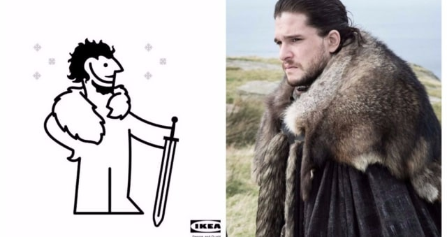 WHAT IKEA Rugs Are Used For GoTs Amazing Capes And Now Theyve - Create your own game of thrones ikea instructions
