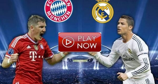 Image result for Bayern Munich vS Real Madrid watch live pic