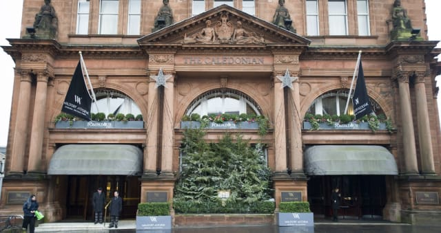 A Pictorial History Of Edinburgh S Caledonian Hotel The Scotsman