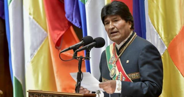12 años Evo Morales
