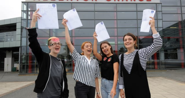 A Level results 2018: Live results for Leeds & West