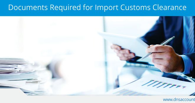 Import Customs Clearance Document List