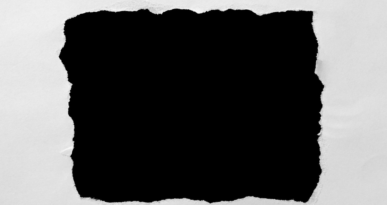 Черно, как сделать край открытки потрепанными