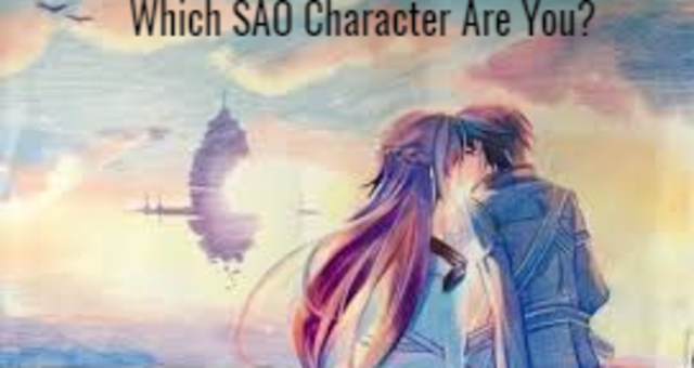 what sao character are you
